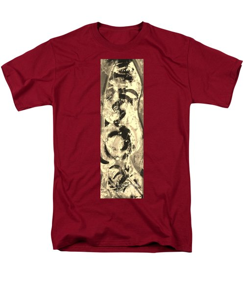 Men's T-Shirt  (Regular Fit) featuring the painting Carpenter by Carol Rashawnna Williams