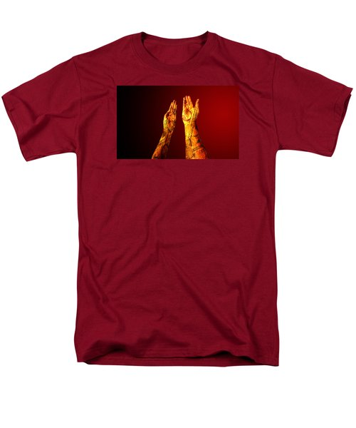 Men's T-Shirt  (Regular Fit) featuring the photograph Cash On Hand by Christopher Woods