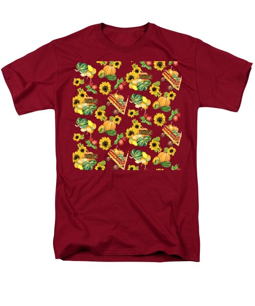 Celebrate Abundance Harvest Half Drop Repeat Men's T-Shirt  (Regular Fit)