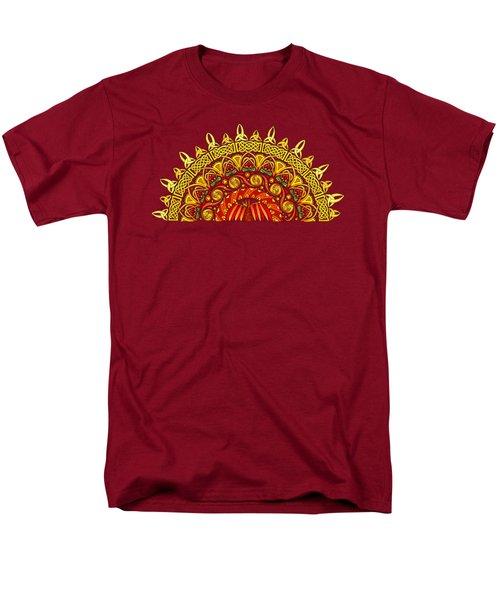 Celtic Dawn Men's T-Shirt  (Regular Fit) by Kristen Fox