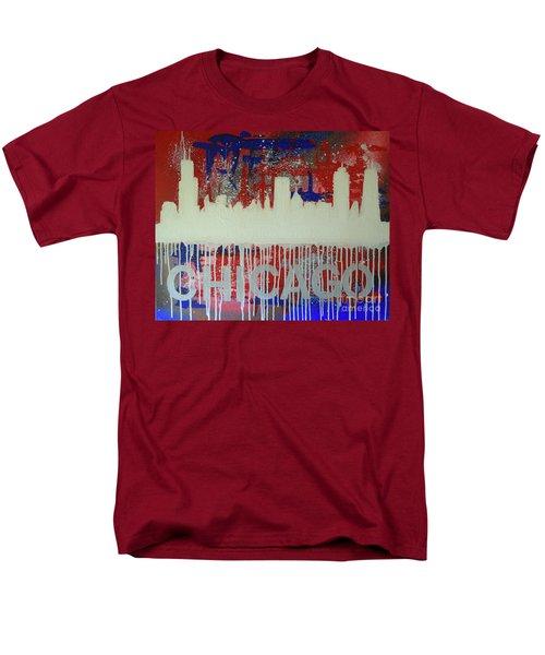 Chicago Drip Men's T-Shirt  (Regular Fit) by Melissa Goodrich