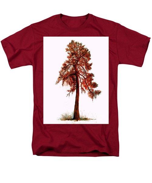 Chinese Pine Tree Drawing Men's T-Shirt  (Regular Fit)