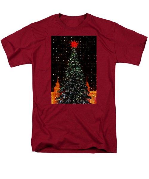 Christmas Tree  Men's T-Shirt  (Regular Fit) by John Wartman