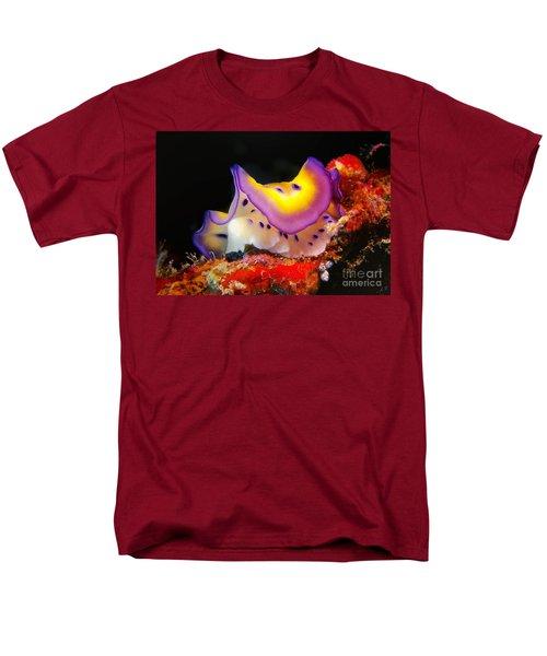 Chromodoris Kunei Nudibranch  Men's T-Shirt  (Regular Fit) by Sergey Lukashin