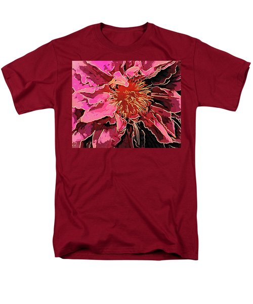 Clematis Up Close And Personal Men's T-Shirt  (Regular Fit)