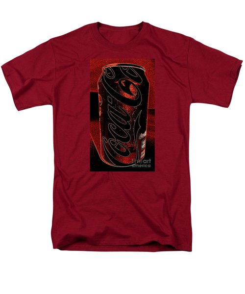 Coca Cola Can Coin Safe Men's T-Shirt  (Regular Fit) by Richard W Linford