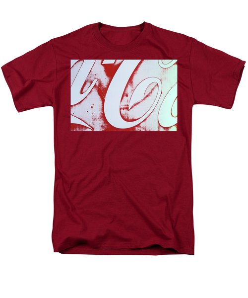 Men's T-Shirt  (Regular Fit) featuring the photograph Coke 3 by Laurie Stewart