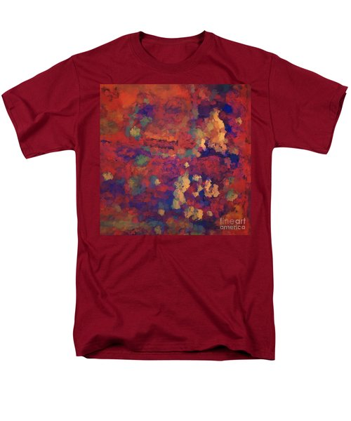 Color Abstraction Xxxv Men's T-Shirt  (Regular Fit)