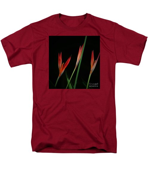 Men's T-Shirt  (Regular Fit) featuring the photograph Colorful Trio by Pamela Blizzard