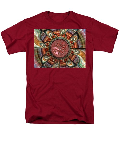 Men's T-Shirt  (Regular Fit) featuring the digital art Conception by Manny Lorenzo