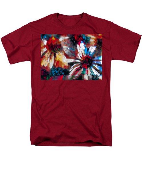 Cone Flower Fantasia I Men's T-Shirt  (Regular Fit) by Jack Torcello
