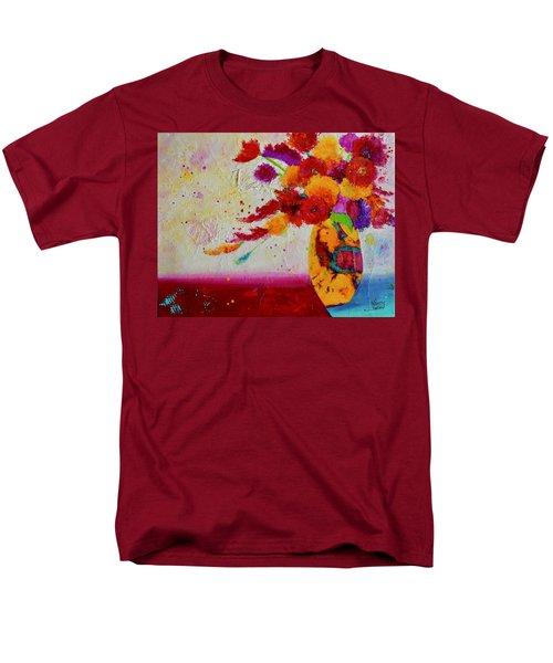 Confetti Men's T-Shirt  (Regular Fit) by Nancy Jolley