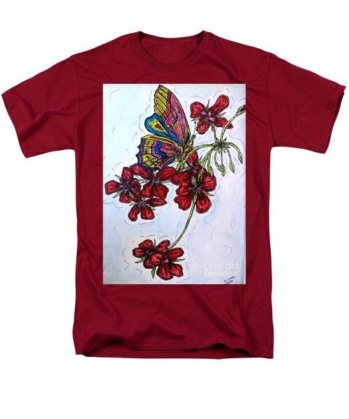 Crimson Fancy Men's T-Shirt  (Regular Fit) by Kim Jones