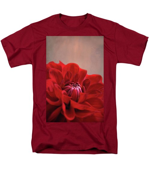 Men's T-Shirt  (Regular Fit) featuring the photograph Dahlia Dalliance  by Marion Cullen