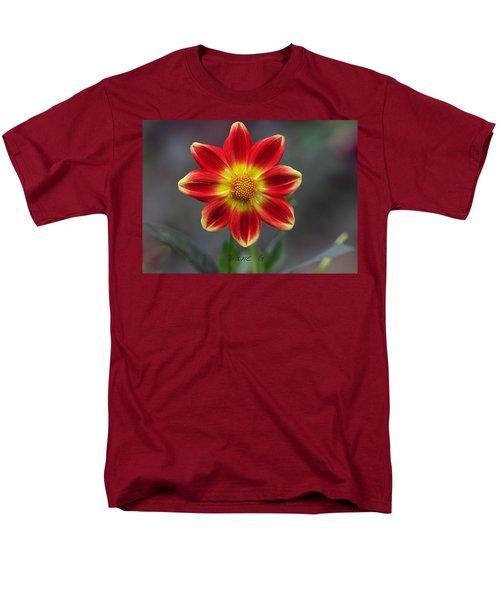 Dahlia Men's T-Shirt  (Regular Fit) by Diane Giurco
