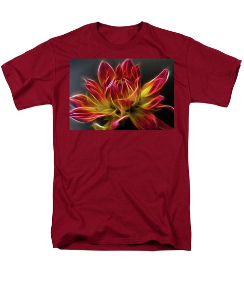 Dahlia Men's T-Shirt  (Regular Fit) by Joann Copeland-Paul