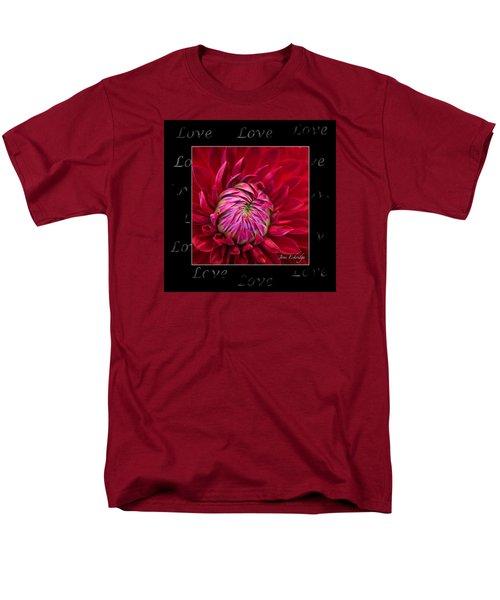 Dahlia Of Love Men's T-Shirt  (Regular Fit) by Joni Eskridge