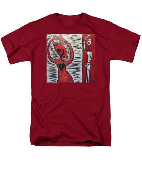 Dancing Until My Heart Breaks Men's T-Shirt  (Regular Fit) by Mario Perron