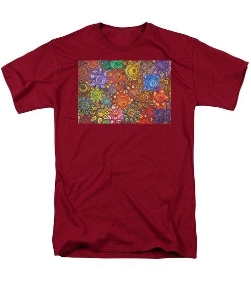 Decorative Flowers Men's T-Shirt  (Regular Fit) by Rita Fetisov