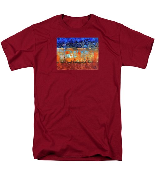 Desert Strata Men's T-Shirt  (Regular Fit) by Walter Fahmy