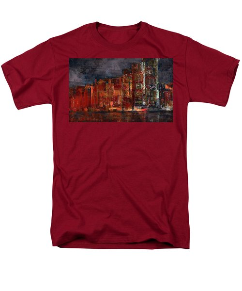 Downtown Men's T-Shirt  (Regular Fit) by Alex Galkin