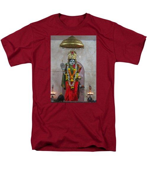 Downtown Ganeshpuri Durga Temple Men's T-Shirt  (Regular Fit) by Jennifer Mazzucco