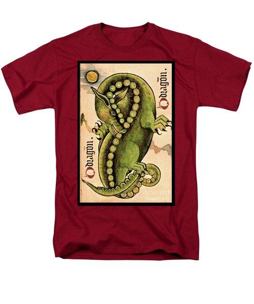 Men's T-Shirt  (Regular Fit) featuring the painting Dragon Dragon by Lora Serra