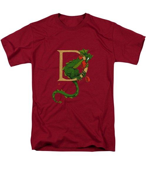 Dragon Letter D 2016 Men's T-Shirt  (Regular Fit)