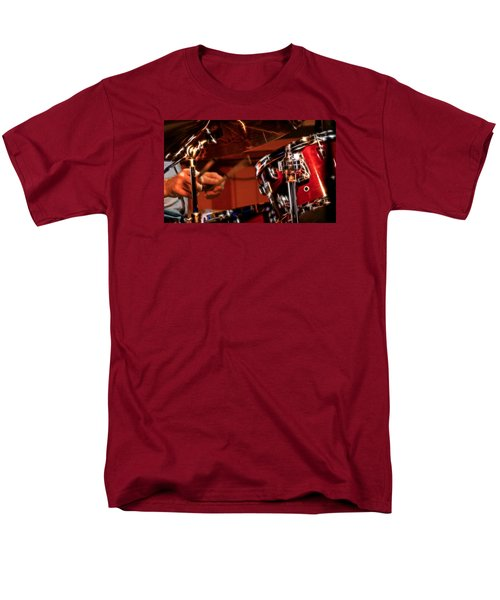 Men's T-Shirt  (Regular Fit) featuring the photograph Electric Drums by Cameron Wood