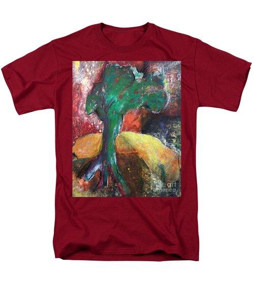 Escaped The Blaze Men's T-Shirt  (Regular Fit) by Elizabeth Fontaine-Barr