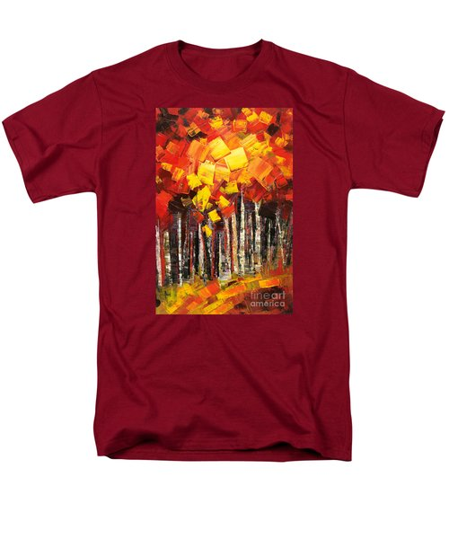 Men's T-Shirt  (Regular Fit) featuring the painting Exaltant by Tatiana Iliina