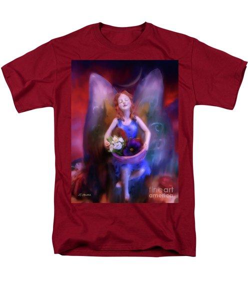 Fairy Of The Garden Men's T-Shirt  (Regular Fit) by Joseph J Stevens