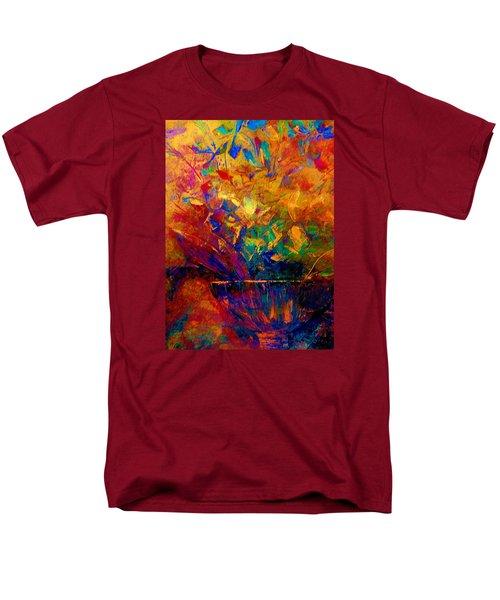 Fall Bouquet  Men's T-Shirt  (Regular Fit) by Lisa Kaiser