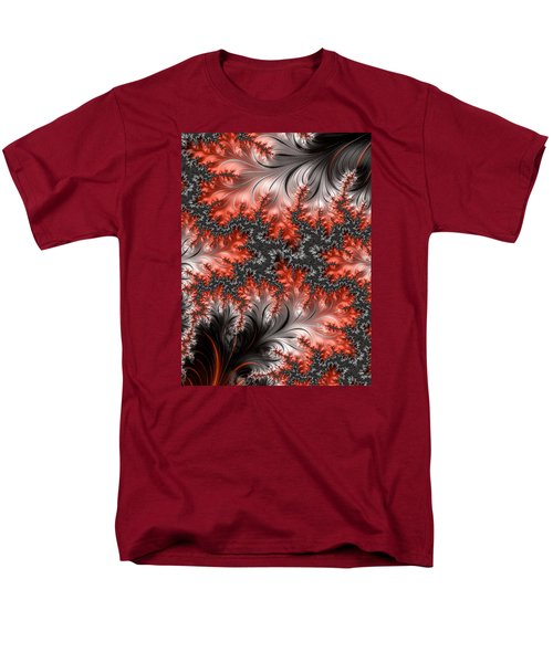 Men's T-Shirt  (Regular Fit) featuring the photograph Falling Leaves by Ronda Broatch