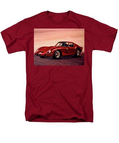 Ferrari 250 Gto 1962 Painting Men's T-Shirt  (Regular Fit) by Paul Meijering