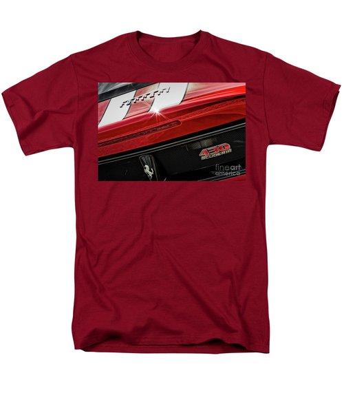 Men's T-Shirt  (Regular Fit) featuring the photograph Ferrari 430 Scuderia by Brad Allen Fine Art