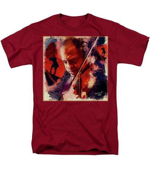 Fiddler Men's T-Shirt  (Regular Fit) by Ted Azriel