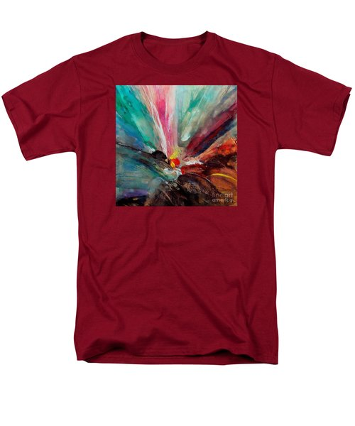 Men's T-Shirt  (Regular Fit) featuring the painting Fiesta  by Dragica  Micki Fortuna