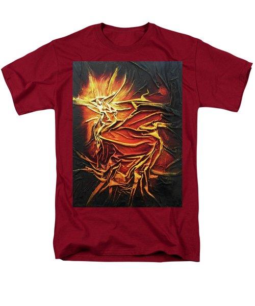 Fire Men's T-Shirt  (Regular Fit)
