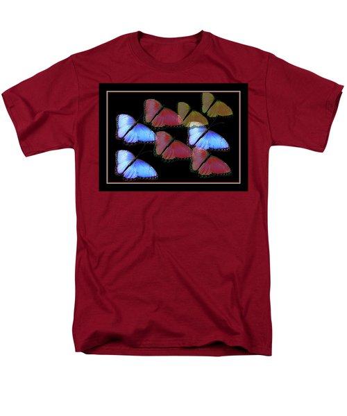 Flight Of The Butterflies Men's T-Shirt  (Regular Fit) by Rosalie Scanlon