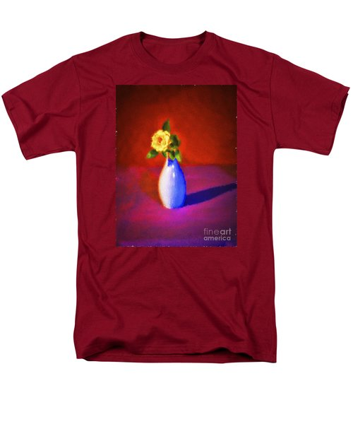 Flower And Vase  ... Men's T-Shirt  (Regular Fit) by Chuck Caramella