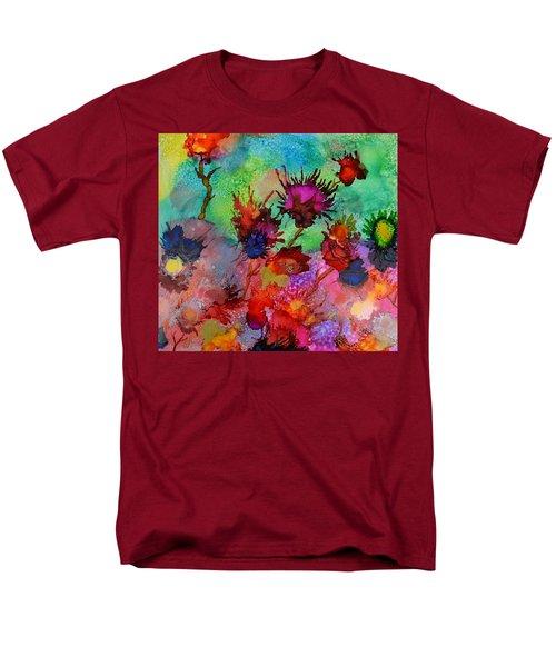 Flowers Blowin In The Wind Men's T-Shirt  (Regular Fit) by Warren Thompson