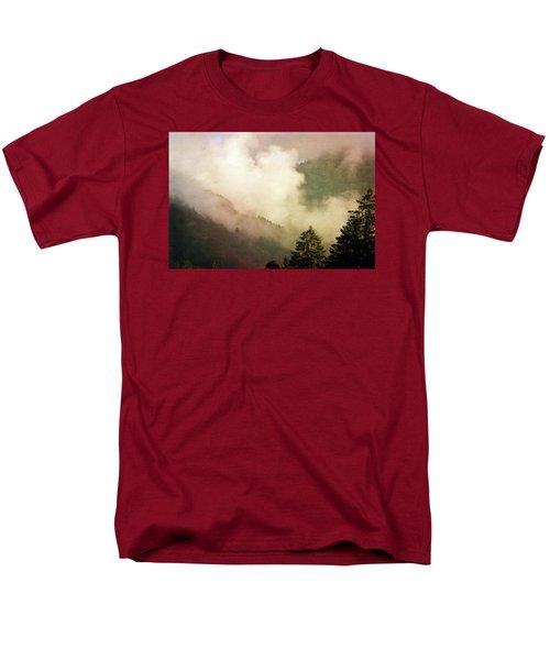 Fog Competes With Sun Men's T-Shirt  (Regular Fit) by AugenWerk Susann Serfezi