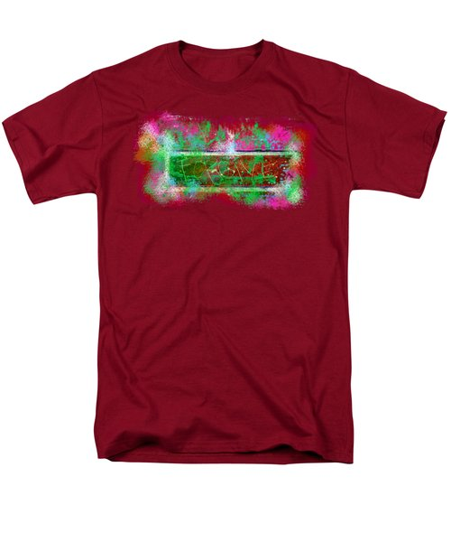 Forgive Brick Pink Tshirt Men's T-Shirt  (Regular Fit) by Tamara Kulish