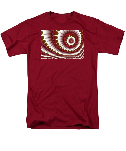 Men's T-Shirt  (Regular Fit) featuring the digital art Fractal 634 by Charmaine Zoe