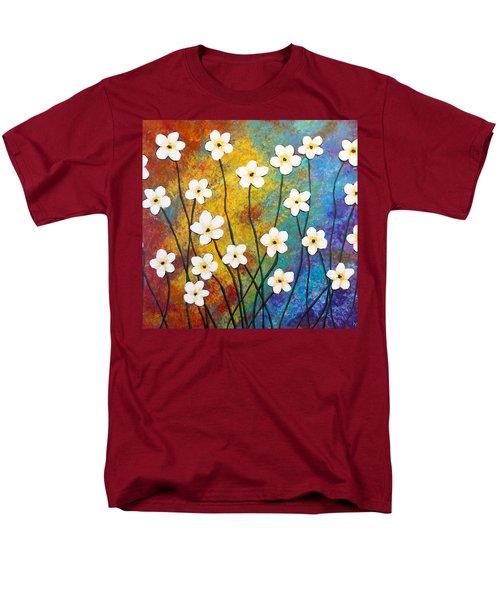 Frangipani Explosion Men's T-Shirt  (Regular Fit) by Teresa Wing