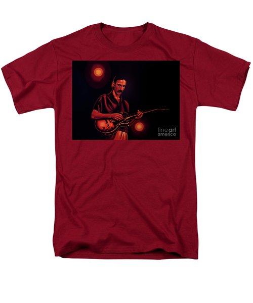 Frank Zappa 2 Men's T-Shirt  (Regular Fit) by Paul Meijering