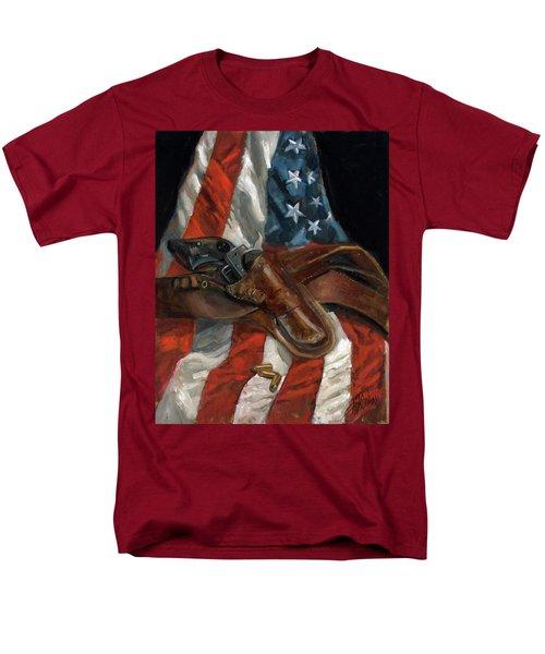 Freedom Men's T-Shirt  (Regular Fit) by Billie Colson