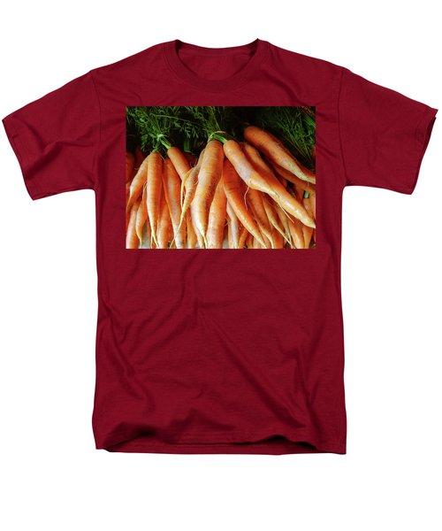 Fresh Carrots From The Summer Garden Men's T-Shirt  (Regular Fit) by GoodMood Art