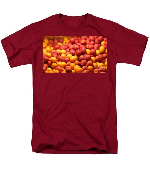 Men's T-Shirt  (Regular Fit) featuring the photograph Fried Sweet Potato Balls by Yali Shi